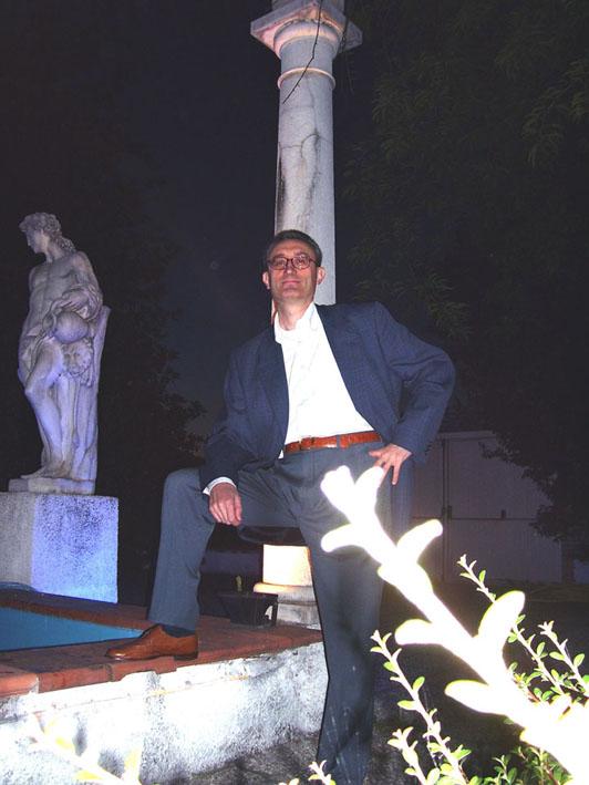 Carl William Brown of the Daimon Club from Brescia Italy