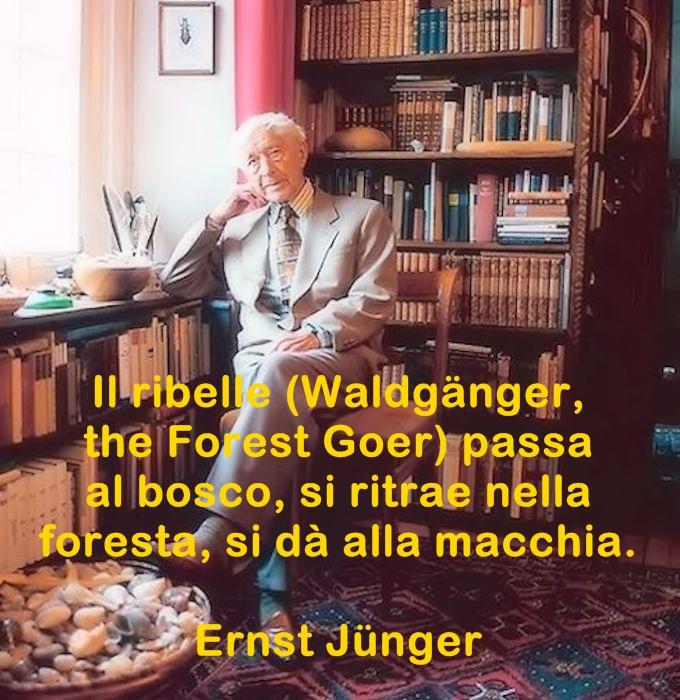 Ernst Jünger aforismi celebri e citazioni