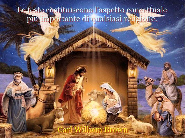 Aforismi celebri sul Natale e la natività