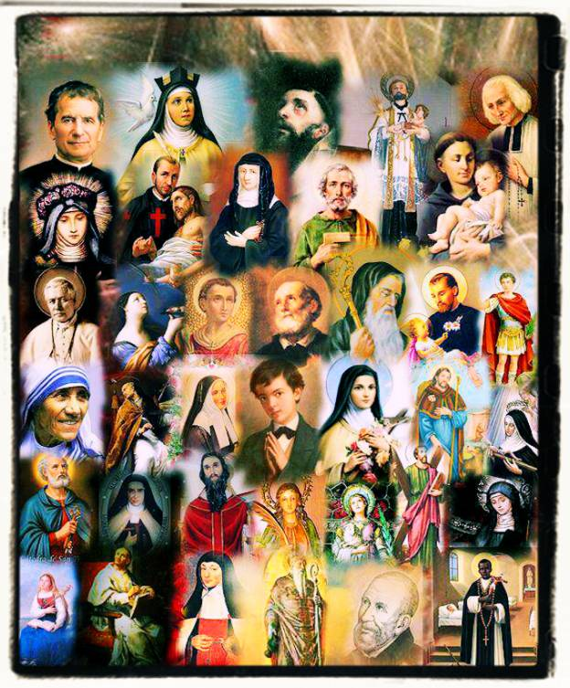 I santi in paradiso e i pirla sulla terra