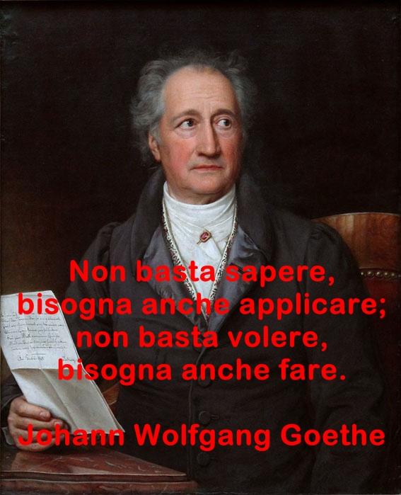 Aforismi di Johann Wolfgang Goethe