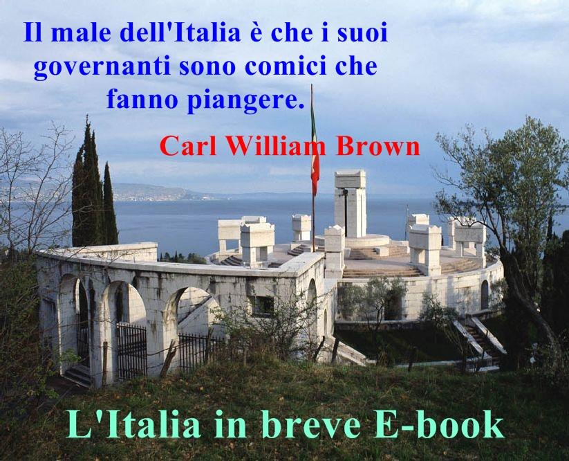 L'Italia in breve aforismi