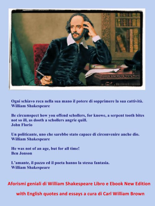 Aforismi geniali di William Shakespeare