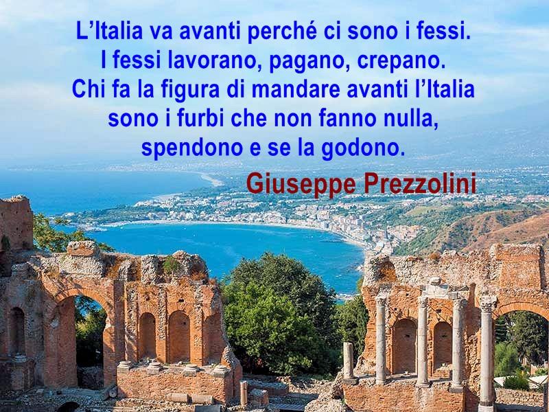 L'Italia dei fessi e dei furbi. Citazioni e aforismi.