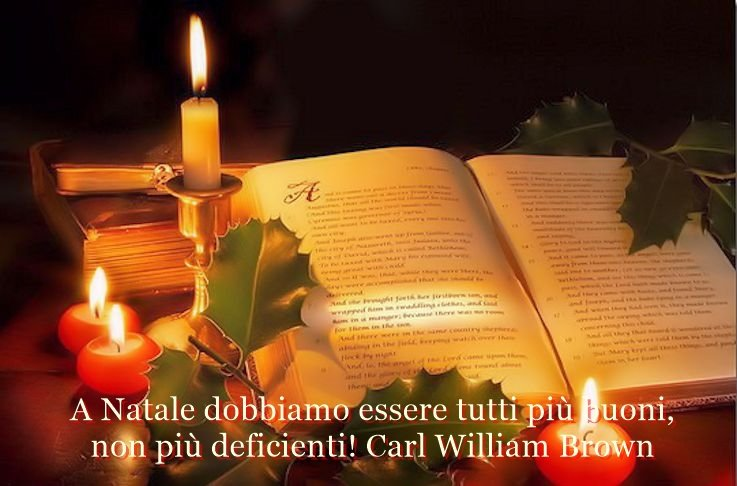 Aforismi e pensieri sul Natale di Carl William Brown