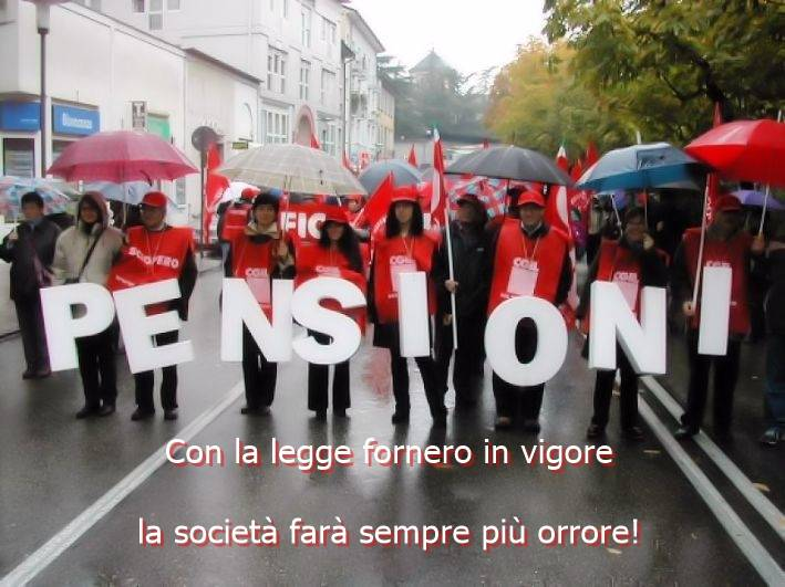 Proteste contro la riforma delle pensioni
