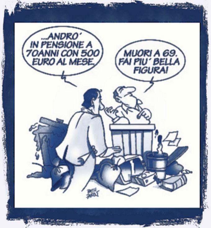 Pensioni e stupidità in Italia