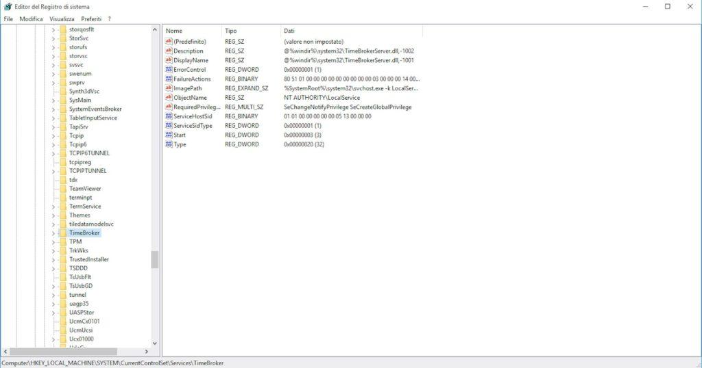 Editor di Windows