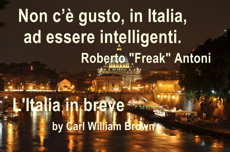 Riforme intelligenti per l'Italia