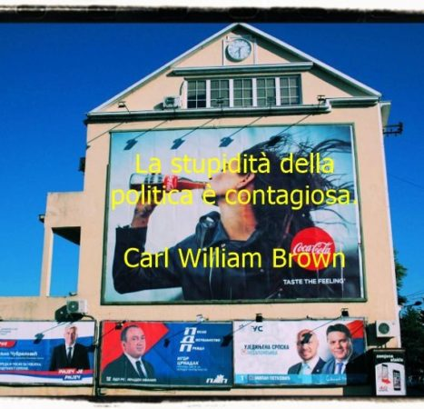 Aforismi sulla politica di C.W. Brown