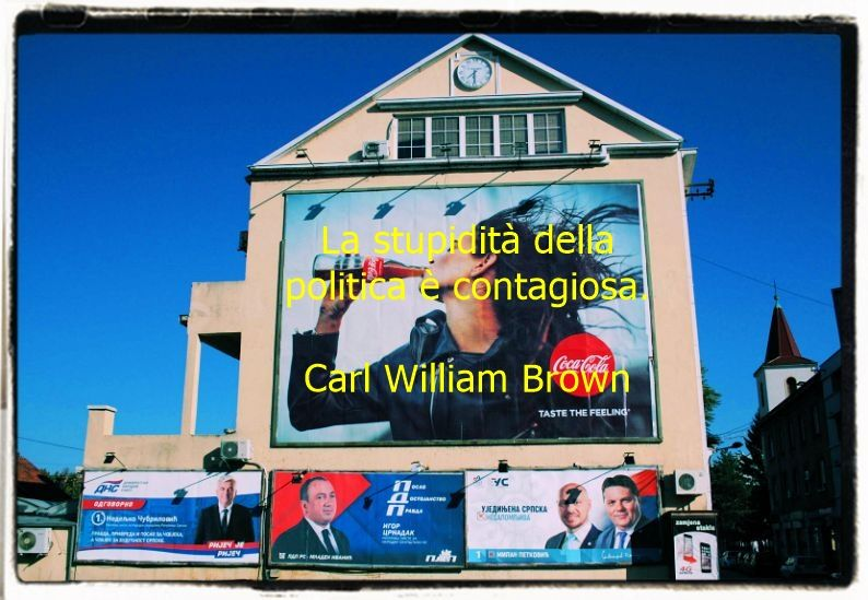 Aforismi sulla politica di Carl William Brown