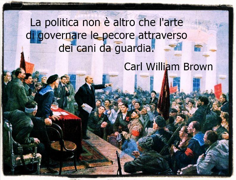 Riflessioni e critiche sulla politica