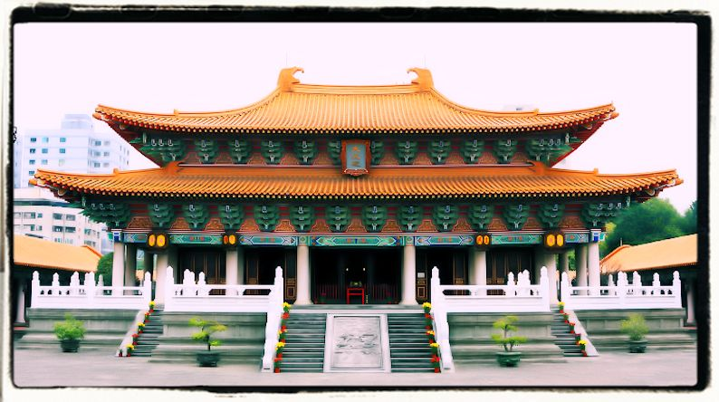 Tempio dedicato a Confucio in Cina