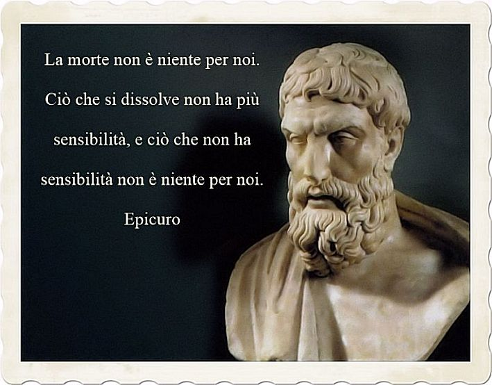 Aforismi celebri di Epicuro