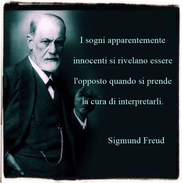 Citazioni sui sogni di Sigmund Freud