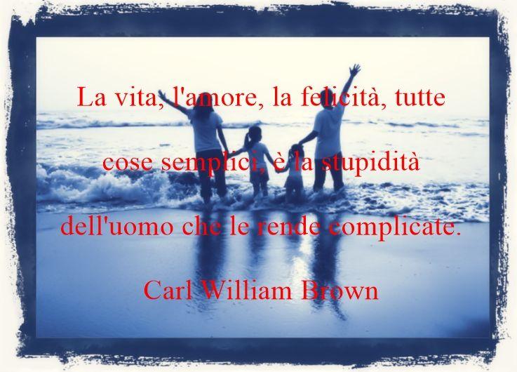 Citazioni sull'amore di Carl William Brown