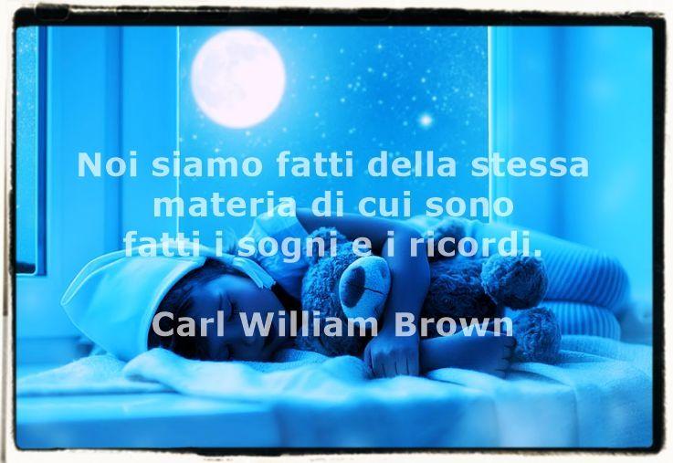 Pensieri e massime sui sogni di Carl William Brown