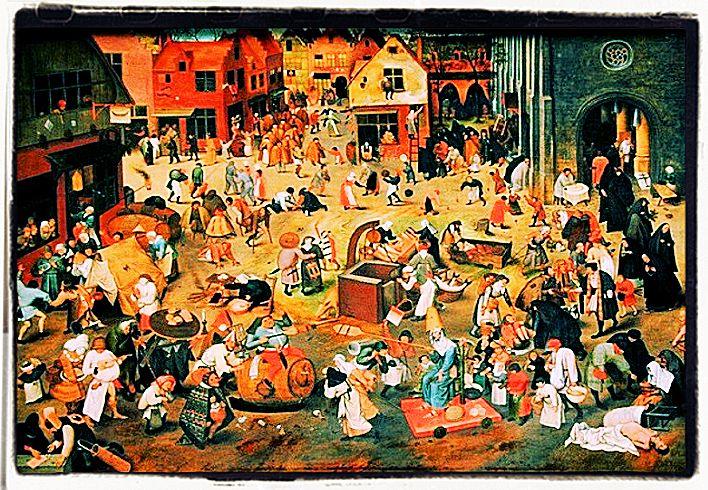 Festa dei pazzi nel medioevo