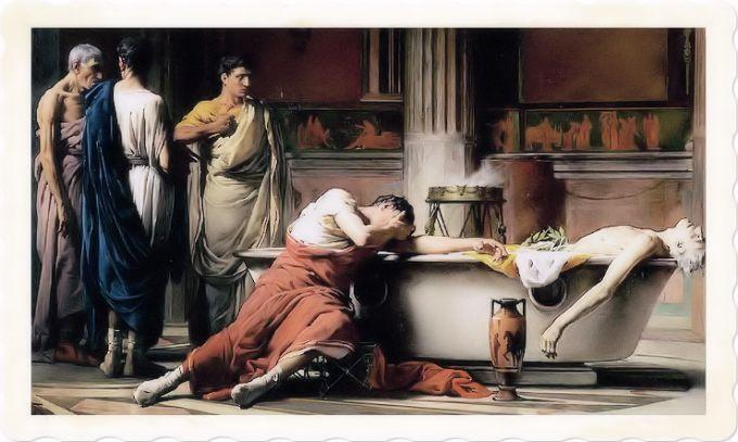 La morte del filosofo Seneca