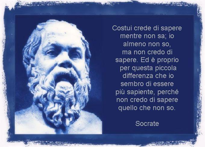 Socrate e la dotta ignoranza