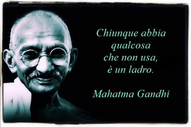 Gandhi citazione sul furto